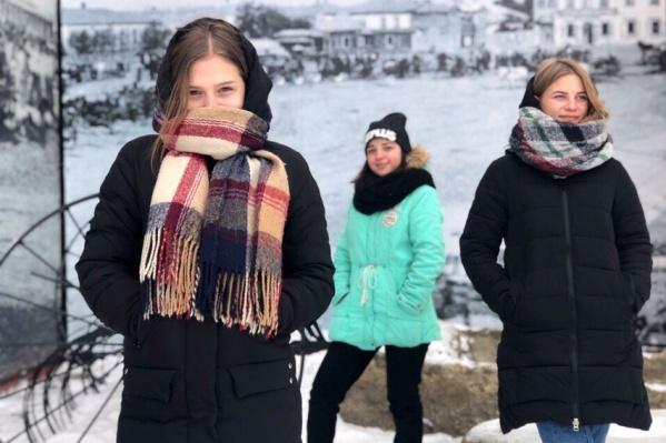 «Урюпинские девчата» исполняют свои песни и стараются продвигать бренд родного города