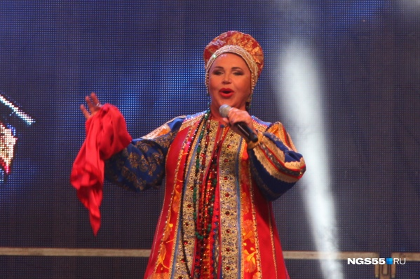 Концерт Надежды Бабкиной продлился около 1,5 часов