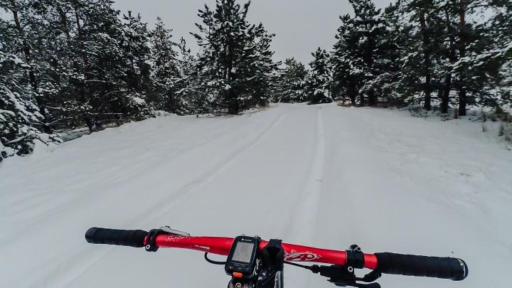 «Сожги салат»: волгоградцы в первый день нового года накрутили больше 50 километров по снежной пойме