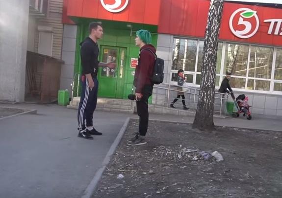 Администратор магазина «Пятёрочка» напал на покупателей в Новосибирске