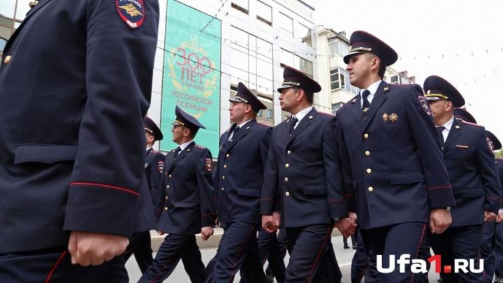 Парад, равняйсь, смирно! МВД Башкирии показало свою мощь