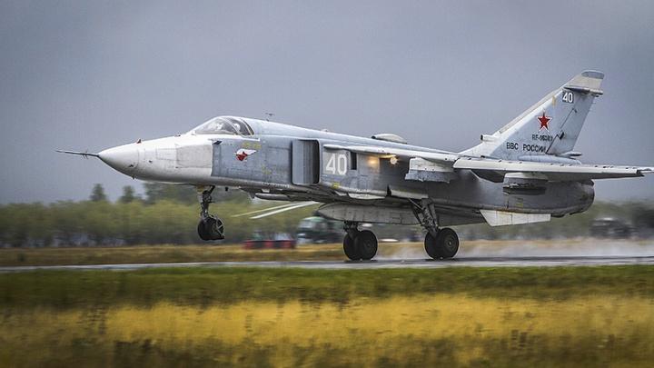 Трёхметровая воронка: Су-24 во время учений сбросил снаряд рядом с населённым пунктом на Южном Урале
