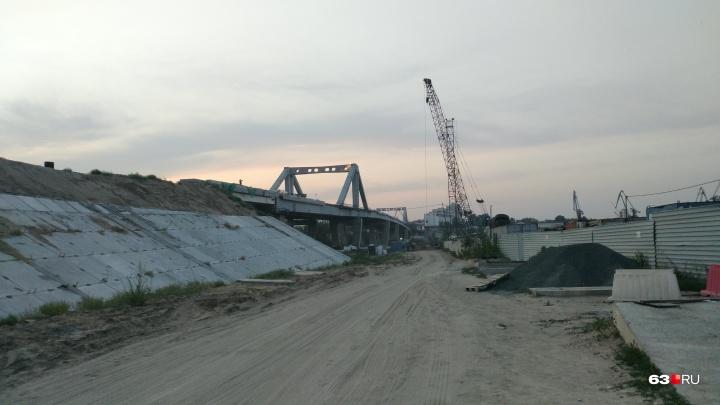 Фрунзенский мост выведут к границе Самары