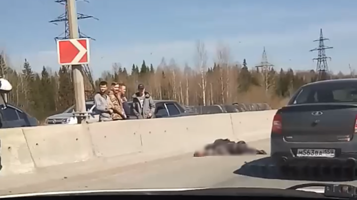 В Перми мотоциклист погиб при столкновении с дорожным ограждением