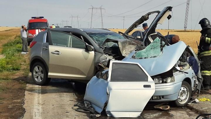 Лобовое столкновение: два человека погибли в ДТП в Абзелиловском районе Башкирии