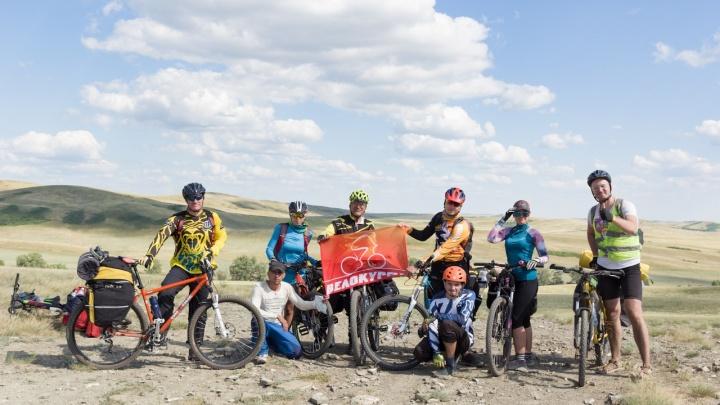 600 километров гостеприимства и красоты: курганские велотуристы вернулись из путешествия по Башкирии