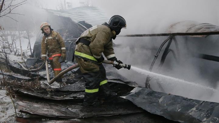 15-летний пленник огненной стихии: в Башкирии в пожаре пострадал подросток