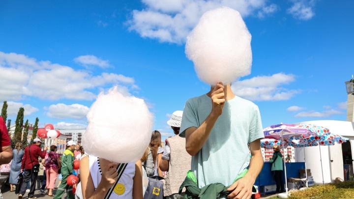 Дети, солнце, молоко: как Уфа веселилась на фестивале «Молочная страна»