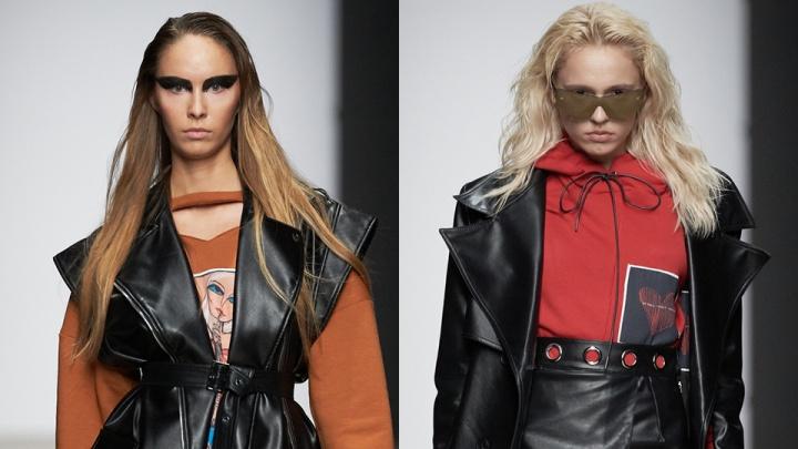 Сибирячка показала «тренд на инкогнито» на модном показе в Москве