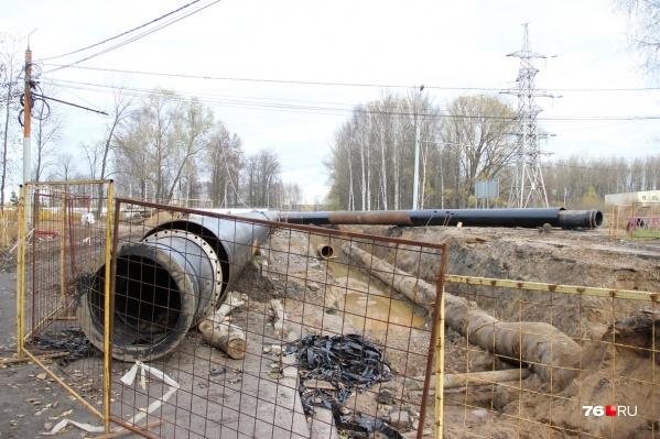 Обнаружили проблемы с газопроводом под дорогой