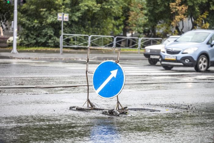 Пешеходные ограждения установят в почти пяти десятках мест
