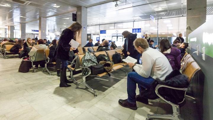 В Челябинске задержали самолёт в Турцию на пять с половиной часов