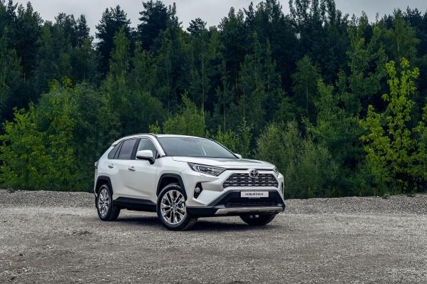 Специально для RAV4 нового поколения Toyota подготовила уникальные предложения