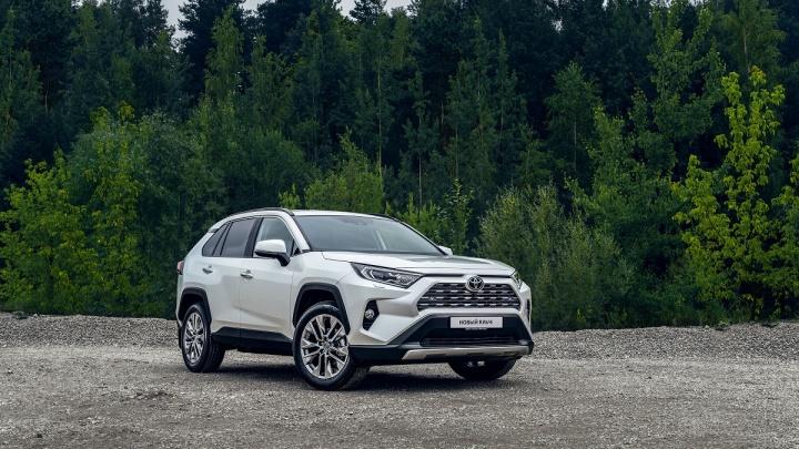 Toyota объявила о прекращении выпуска кроссовера RAV4