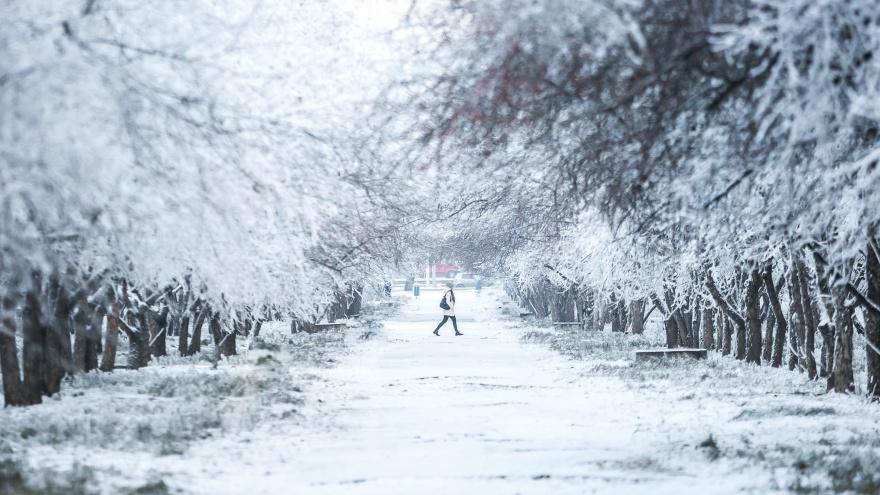 Резкое похолодание надвигается на Красноярск