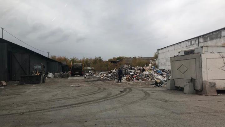 Челябинцы засекли мусоровозы, которые продолжают выгружать отходы в районе городской свалки
