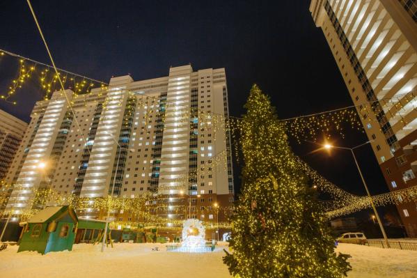 Ледовый городок появится во дворе жилого комплекса «Миллениум»
