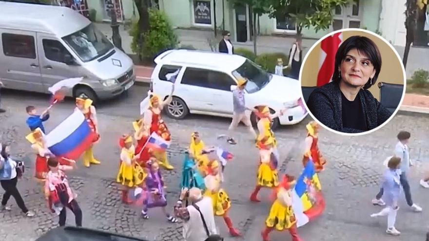 Грузинского министра уволили из-за ростовского детского ансамбля