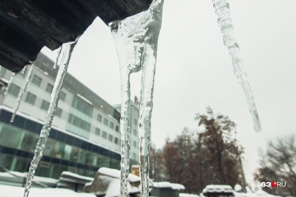 Температура воздуха днем опустится до -10°С