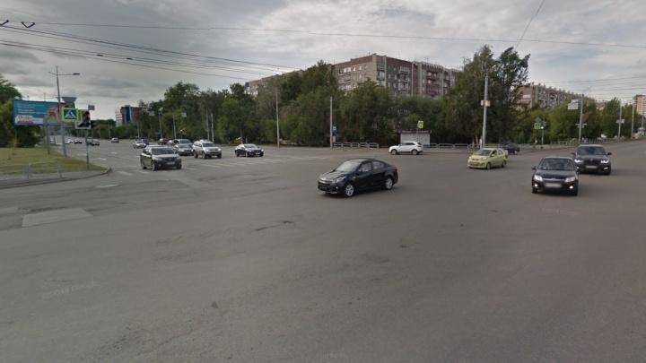 На крупном перекрёстке в Челябинске запланировали строительство подземного перехода