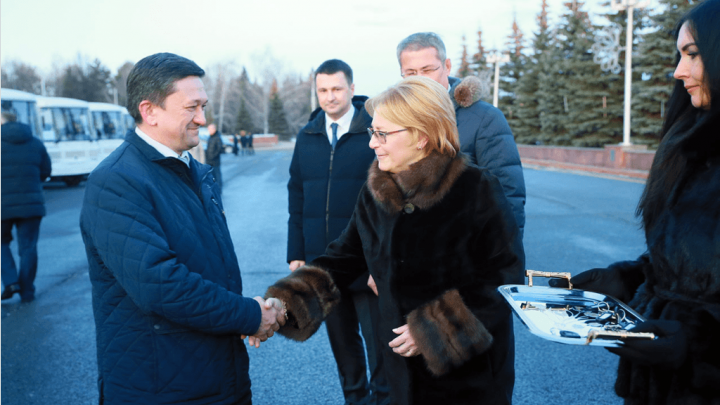 В Уфе с проверкой побывал министр здравоохранения России