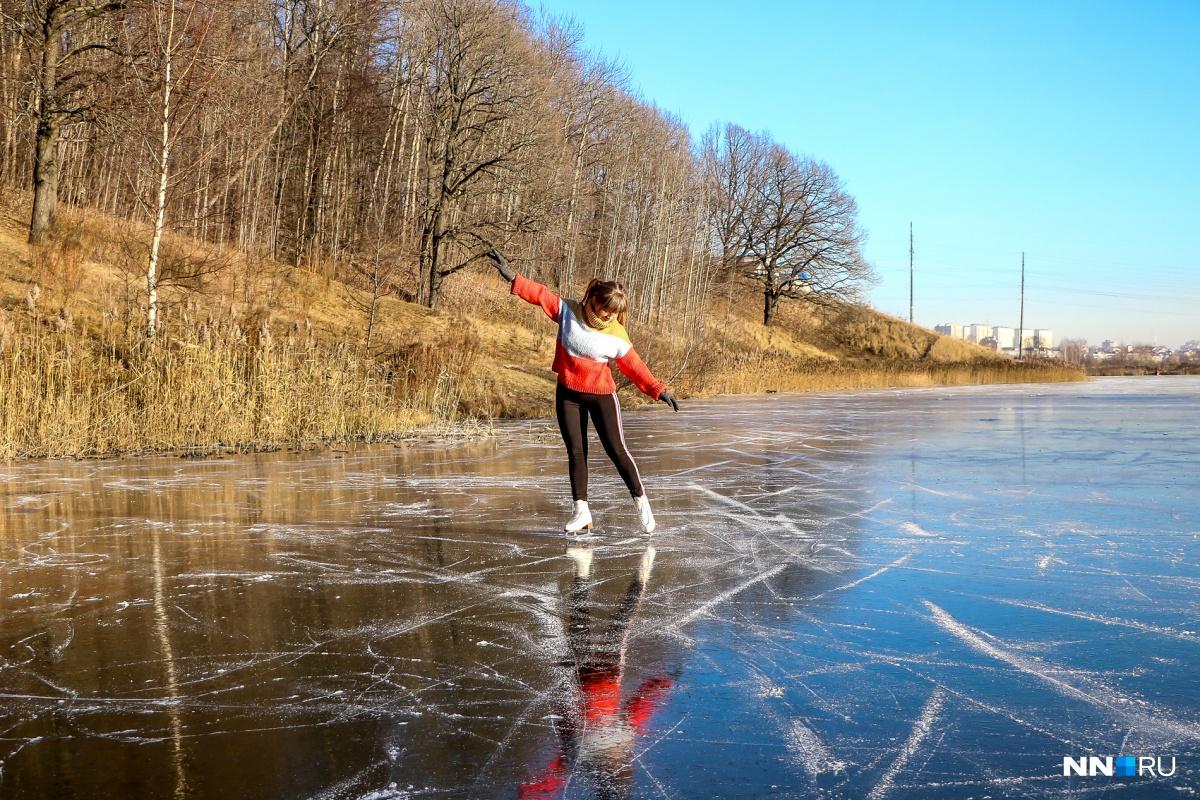 Лед прочный. Проверено NN.RU