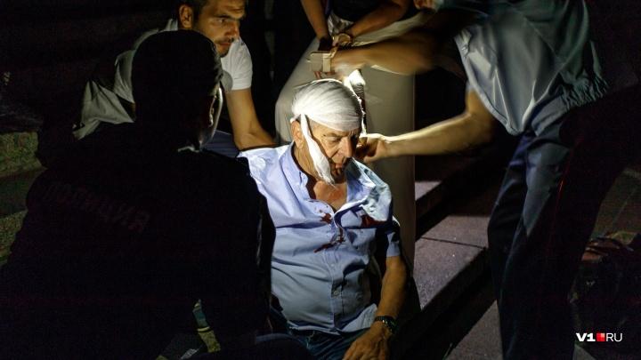 Французский лётчик разбил голову на Мамаевом кургане в Волгограде