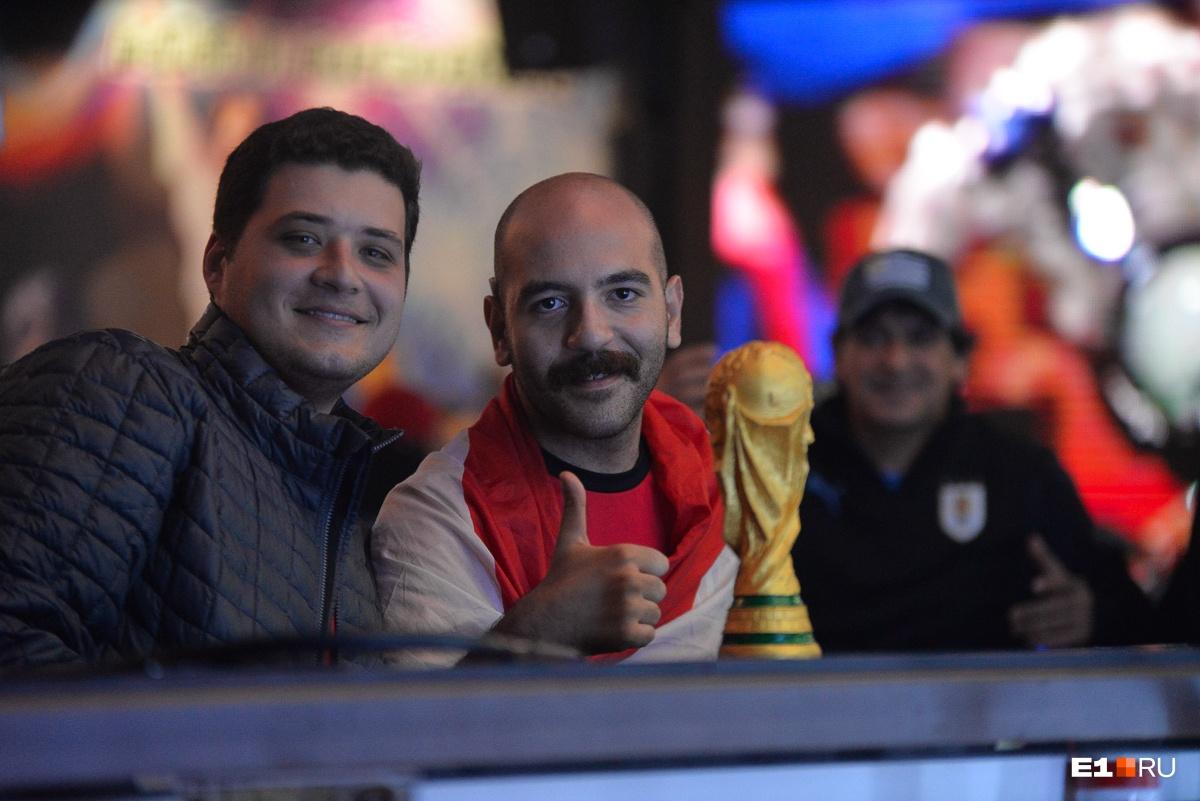 У Египта уже есть кубок чемпионата. Правда, пока ненастоящий