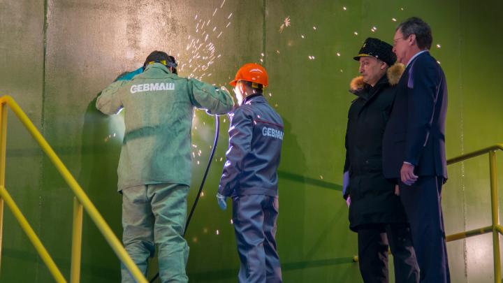 «Севмаш» завершит строительство атомных подлодок серий «Борей» и «Ясень» к 2024 году
