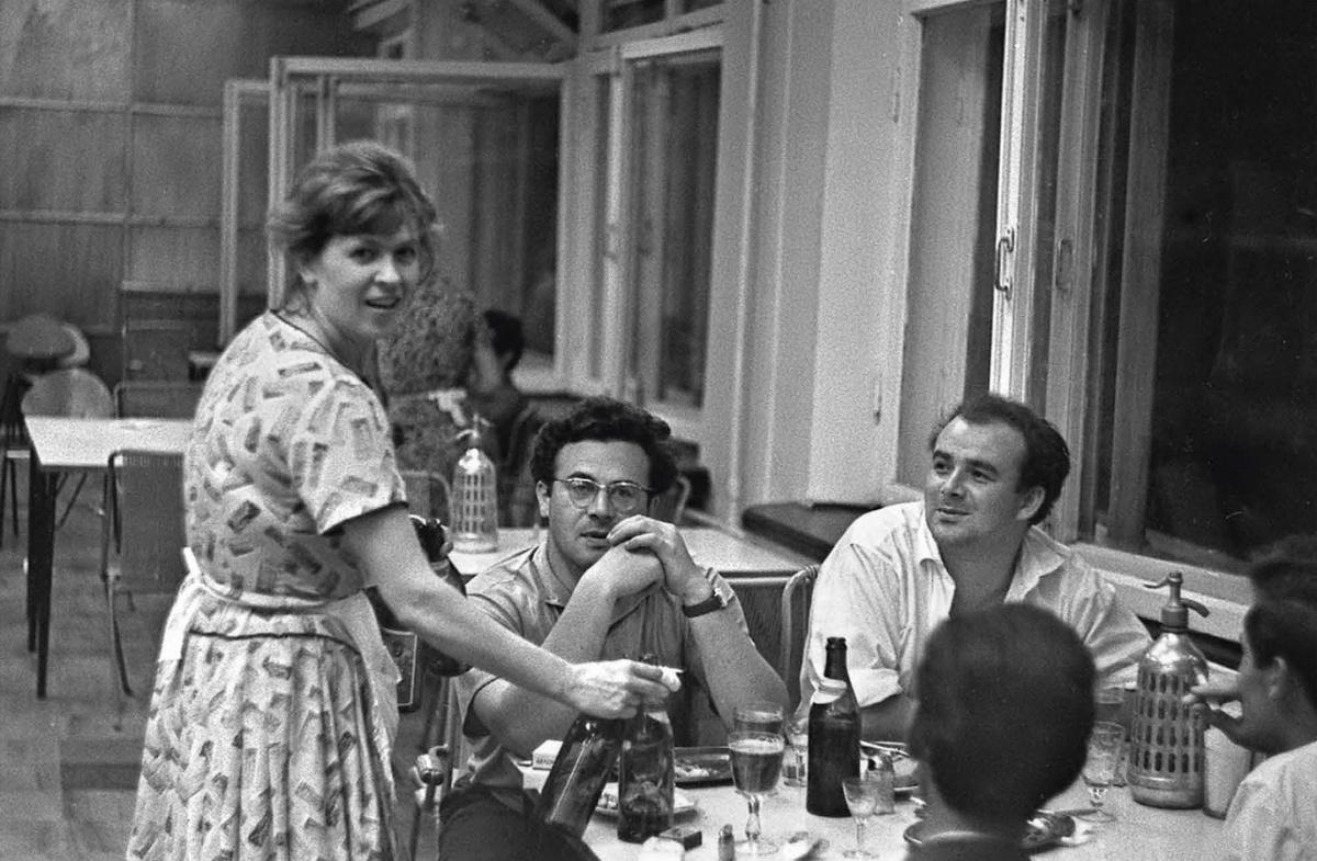 Столовая «Рассвет». 1962 год. Фото В. Ветлугина (МИЕ)