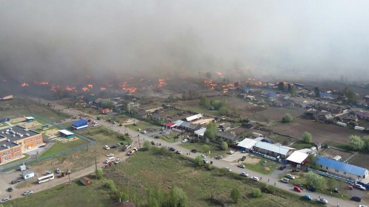 Названы первые причины страшных пожаров в Лесосибирске и Канске
