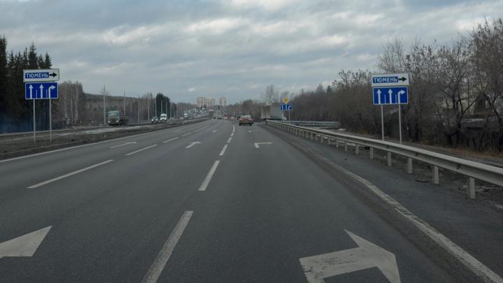На Челябинском тракте спилили светофор, за который боролся Юрий Дёмин