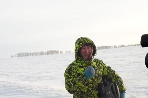 Сагиля Нигматулина каждый день вынуждена утепляться и идти на работу пешком