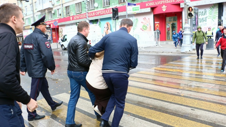 Суд признал незаконным задержание одного из организаторов акции против пенсионной реформы в Перми
