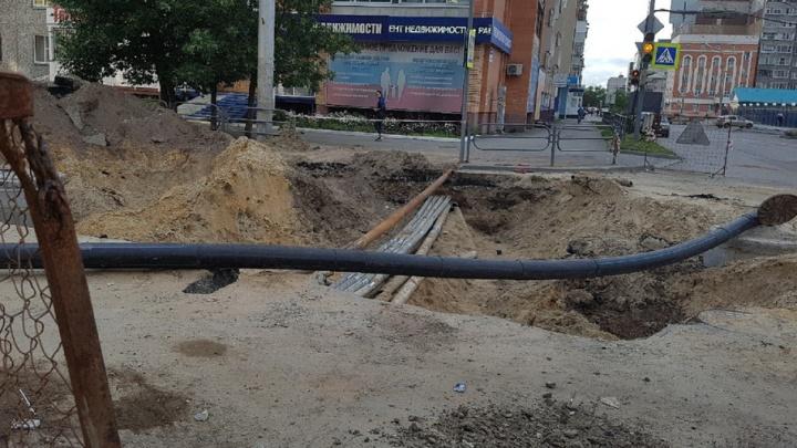 Движение по улице Куйбышева в Кургане закрывают