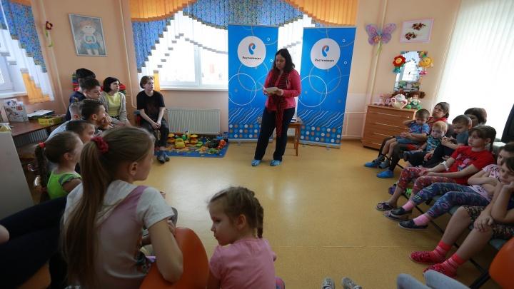 «Ростелеком» в Красноярске завершил первый этап акции «Чтение с увлечением» в детских больницах