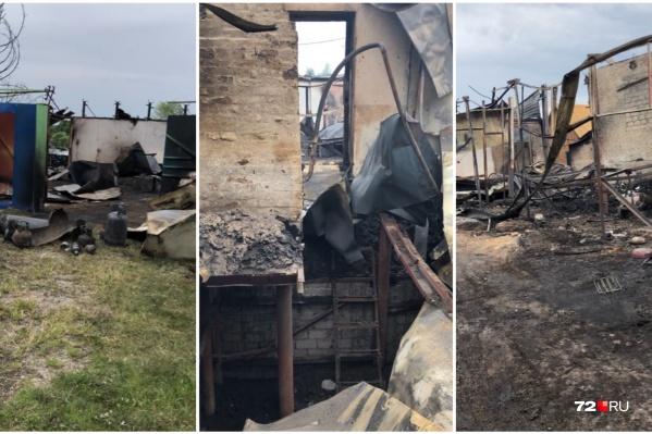 Пожар произошёл в четыре утра 11 июля