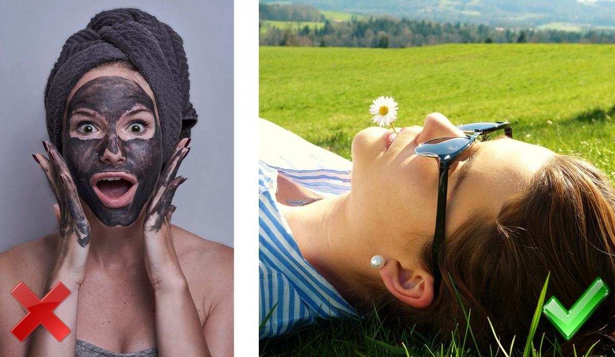 Врач советует следовать инструкции на упаковке маски и не держать её дольше рекомендованного времени