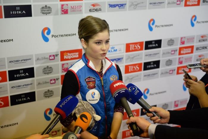 Юлия не сможет выступить на играх как спортсмен, зато расскажет, что думает о выступлениях других