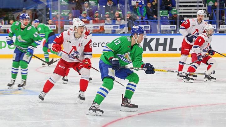 «Просто рабочие моменты»: хоккеисты «Салавата Юлаева» устроили потасовку после проигранного матча