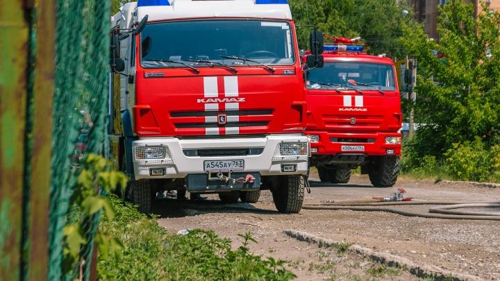 В Сызрани из-за возгорания из детского сада эвакуировали 278 человек