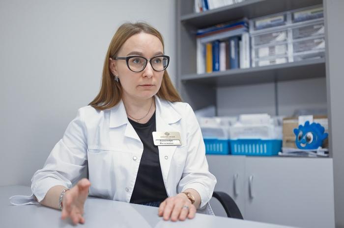 Александра Перфильева, оптометрист