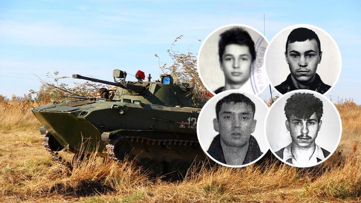 Тюменские следователи ищут четырех сбежавших солдат