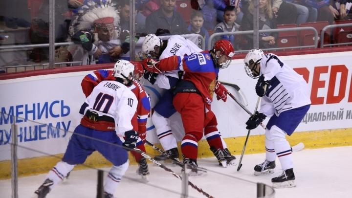 Юниорская сборная России начала чемпионат мира в Челябинске с разгрома французов