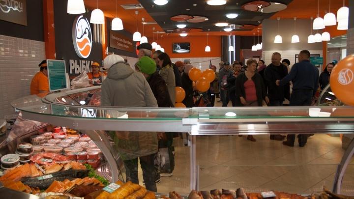 Морепродукты на любой вкус: в «Парковом» откроется новый фирменный магазин сети «Рыбка»