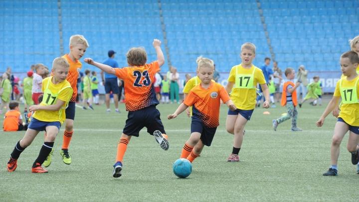 В пользу детского спорта 5:0: как челябинцы болели за футболистов-дошкольников
