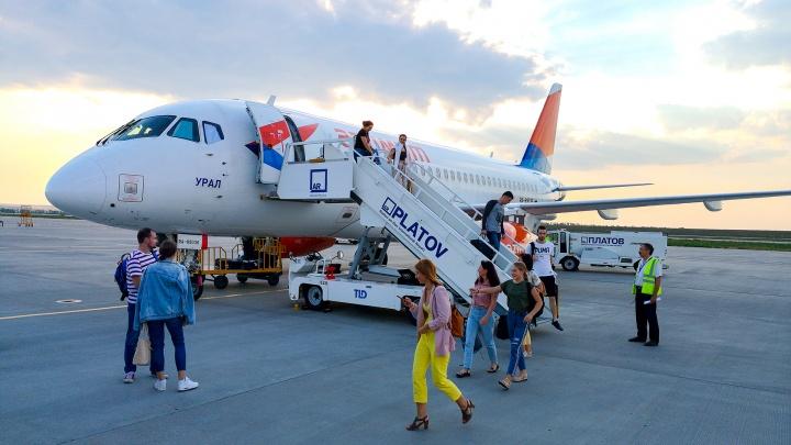 Лайнер «Азимута» не вылетел в Ростов из Тюмени по техническим причинам