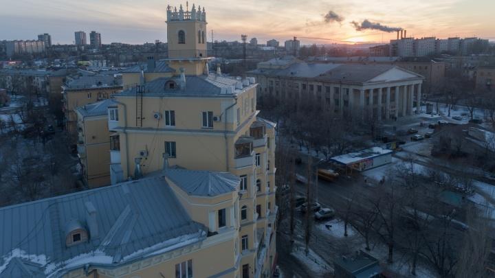 Высокое давление: в Волгоградской области ожидается крепкий ветер и мороз -9°С