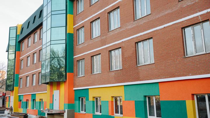 В Самаре построили эксклюзивную жилую пятиэтажку