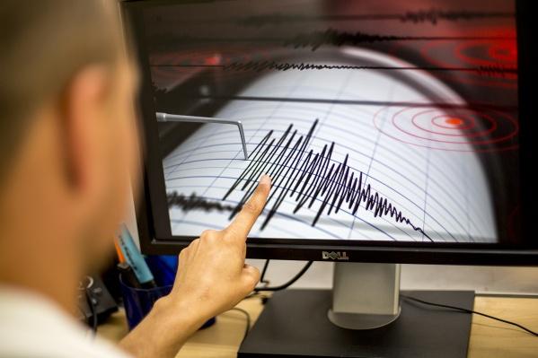 Землетрясение случилось в 196 км от Горно-Алтайска